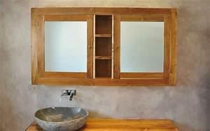 Bad Spiegelschrank Holz : massivholz waschtische waschtisch unterschrank aus teak holz naturstein waschbecken aus ~ Frokenaadalensverden.com Haus und Dekorationen