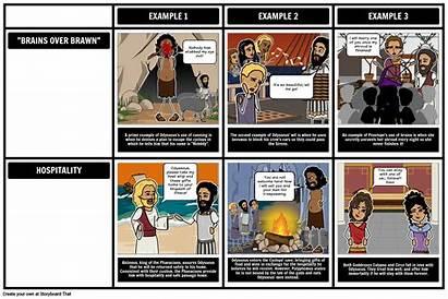 Odyssey Themes Storyboard Homer Teacher Journey Hero