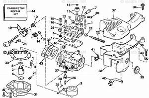 Evinrude Outboard Parts By Year 1988 Oem Parts Diagram For