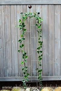 Rankhilfe Rosen Freistehend : rankgitter lea aus edelstahl eine perfekte rankhilfe f r kletterpflanzen ~ Orissabook.com Haus und Dekorationen