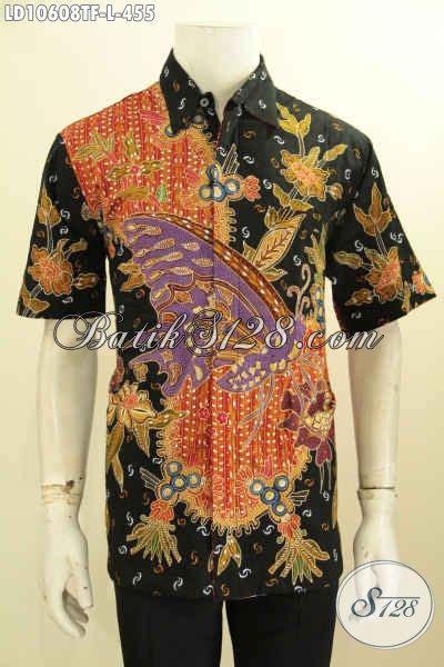 hem batik trendy furing ukuran l untuk pria til