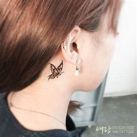 ear tattoos  women tatto