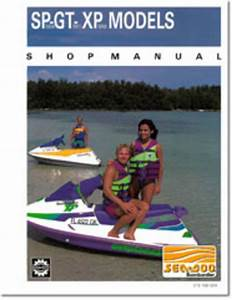 1991 Seadoo Sp  Gt  Xp  5804 5811 5850  Repair Shop Manual