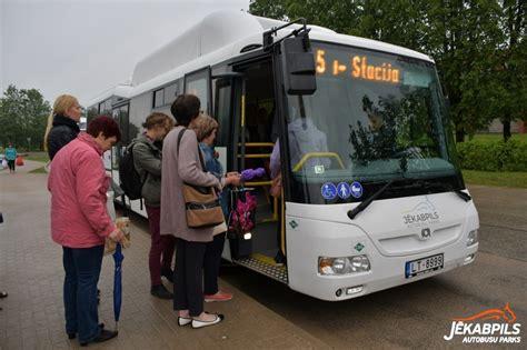 Jēkabpils pilsētā noteiktas izmaiņas autobusu kustības ...