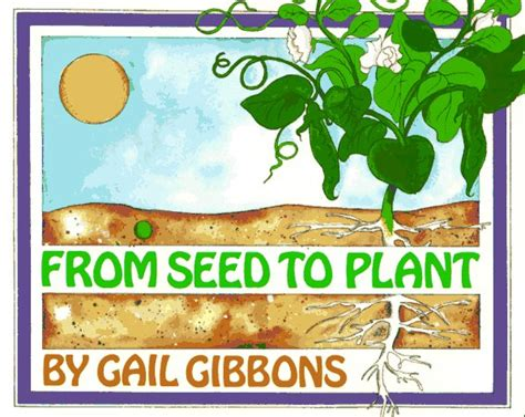 book on plants how a seed grows carrots are orange