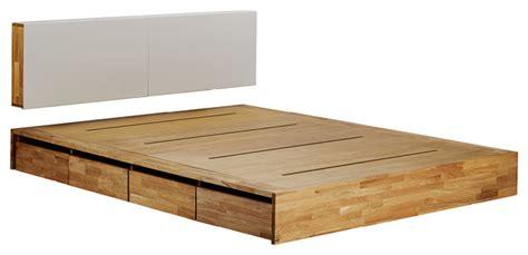 wooden beds with storage mash lax platform solid wood storage bed modern Modern