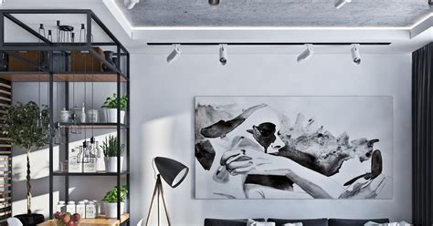 Artistic Apartments With Monochromatic Color Schemes by Fruidelicious Artistic Apartment With Monochromatic Color
