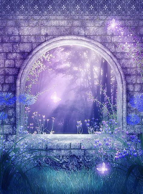 magic fairy tale wedding photography background