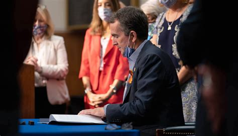Staff Report: Governor Northam Signs New Laws to Support ...