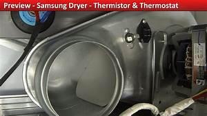 Thermistor Rear Access - Dv422ewhdwr Samsung Dryer