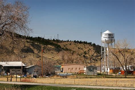 Fort Smith, Montana Recovery Act Project   Fort Smith ...