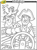 Coloring Pages Pirate Pirates Colouring Crayola Sheets Helm Ship Worksheets Homework Printables Folder Adventure Visit Preschool sketch template