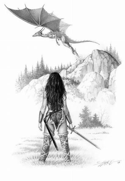 Elmore Larry Fantasy Dragon Welsh Artist Draconika