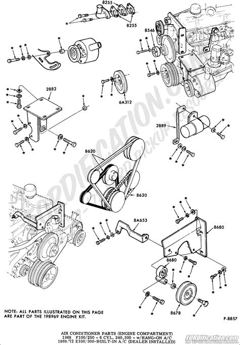 1968 F 250 Engine Diagram by Ford Truck Technical Drawings And Schematics Section F
