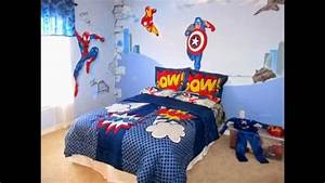 Superhero bedroom ideas - YouTube
