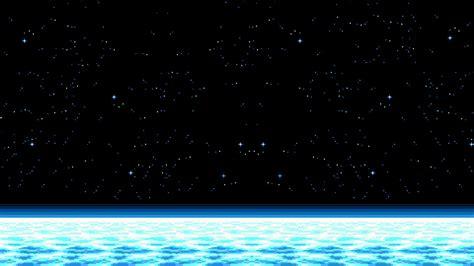 Space Pixel Art Horizon Stars Hd Wallpapers Desktop