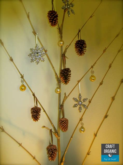 a bamboo christmas tree craft organic