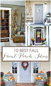 Front, Porch, Fall, Decor, 10, Beautiful, Front, Porch, Displays