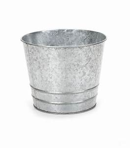 Galvanized, Tin, Bucket