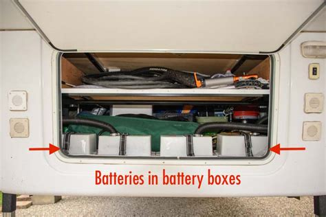 Boat Battery Box Ideas by Cell Vs Agm Batteries Rv Wiring Tips