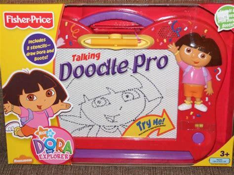 Fisher Price Talking Dora The Explorer Doodle Pro