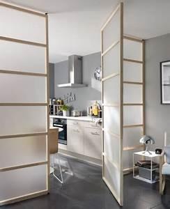 Cloison Amovible Ikea : une cloison d co pour s parer sans assombrir ~ Melissatoandfro.com Idées de Décoration