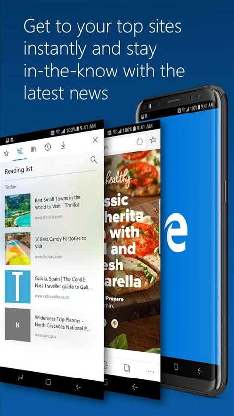microsoft edge update adds support for android 8 0 oreo adaptive icons more phonearena