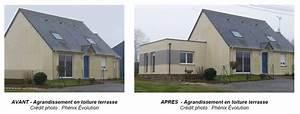 cout extension maison phenix ventana blog With amazing renovation maison exterieur avant apres 8 maison ossature bois plain pied