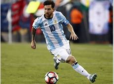 Argentina's Lionel Messi the obstacle in front of USA's