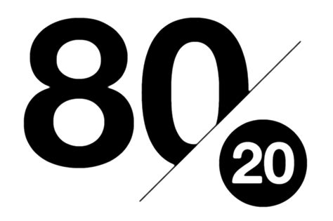 How To Achieve More With Less Using The 80/20 Principle