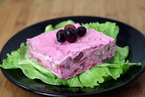 moms   frozen cranberry salad recipe