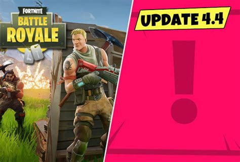 fortnite  patch notes epic games update coming