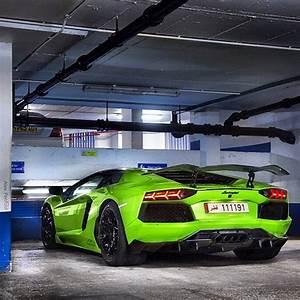 Green Cars: lamborgini Aventador? ~ Daily Car Cocaine