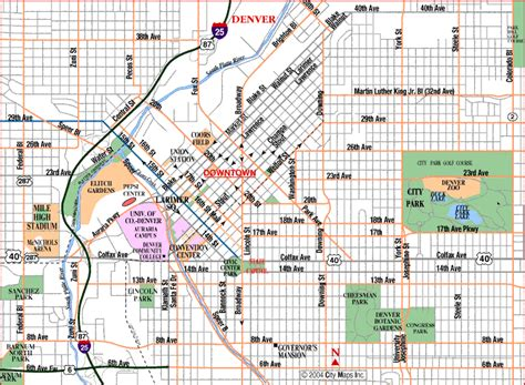 denver buildingsplaces pinterest denver nice map
