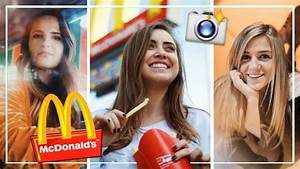 UGLY LOCATION PHOTOSHOOT CHALLENGE: McDonald's! | ft ...
