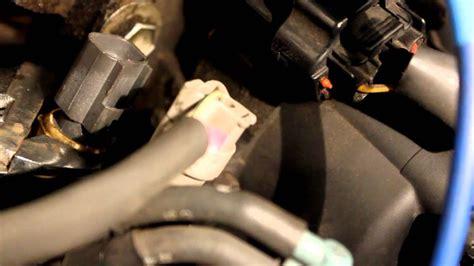coolant temperature sensor replacement   toyota