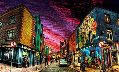 Dublin Ireland Wallpapers Irish Cities Backgrounds Deviantart