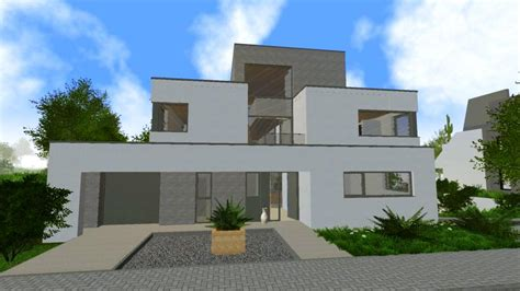Modernes Haus Länglich by Modernes Haus Modern House Blueprints Rising World Forum
