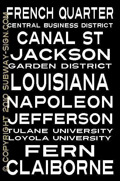 New Orleans 20x30