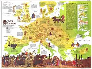Celtic Map Of Europe Thefreebiedepot