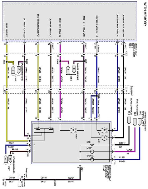 Looking For Mirror Wiring Diagram Power