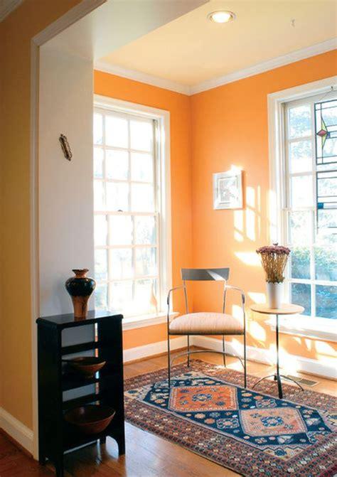 underused interior design color    orange