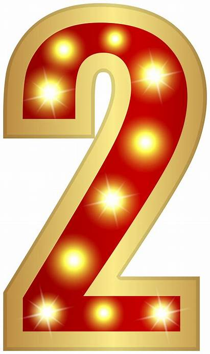 Glowing Number Clipart Numbers Transparent Yopriceville
