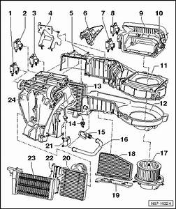 Volkswagen Workshop Manuals  U0026gt  Golf Mk5  U0026gt  Heating