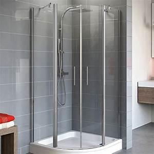 Duschkabine 90x90 Viertelkreis Radius 550 : duschkabinen und andere bad sanit r von schulte online kaufen bei m bel garten ~ Eleganceandgraceweddings.com Haus und Dekorationen