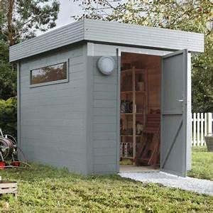 Abri De Jardin Toit Plat Leroy Merlin : pose d 39 un abri de jardin jusqu 39 10 m par leroy merlin ~ Premium-room.com Idées de Décoration