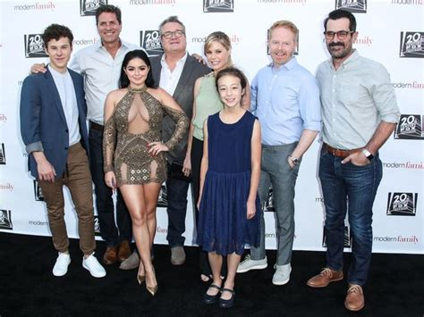 modern family season 8 modern family ariel winter hits back at critics of thigh skimming gold minidress why