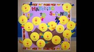 Spring classroom door decorations - YouTube