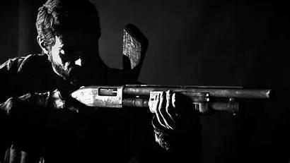 Last Joel Shotgun Dark Wallpapers Weapon 1080p