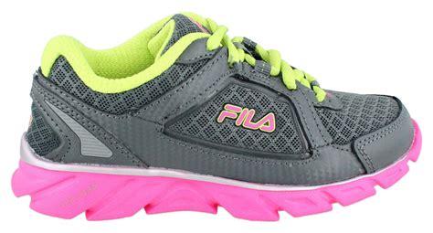 Girl's Fila, Finest Hour Memory Foam Running Shoes
